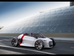 Audi urban concept Spyder/Standaufnahme